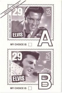 Packs of (20) ELVIS PRESLEY COLLECTIBLE 29ct US Postal Service STAMPS