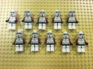 NEW STAR WARS ARF Elite Clone Trooper Mini Figures MiniFig LOT Army