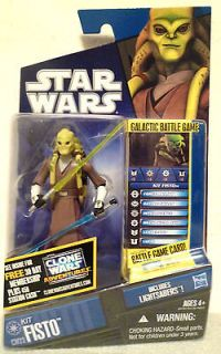 WITH LIGHTSABERS  Star Wars The Clone Wars Action Figure #CW23 2011