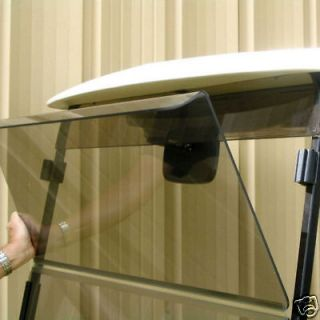 Tinted Fold Down Windshield for Club Car DS 1999   Older Golf Carts