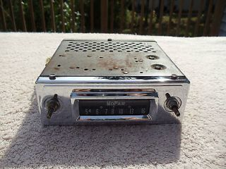 ~ORI GINAL~ 1960 1961 1962 1963 1964 1965 MOPAR CAR RADIO ~MODEL 704