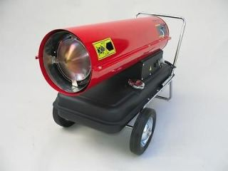 Kerosene 400,000 BTU Forced Air Portable Space Heater MH 0400 0M10