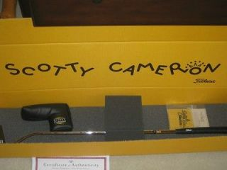 Newly listed Scotty Cameron Del Mar Putter