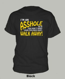 AN ASS HOLE ~ T SHIRT funny rude novelty tee ALL SIZES & COLORS