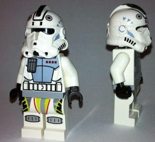 CLONE TROOPER lego star wars commander black head clone shock pilot