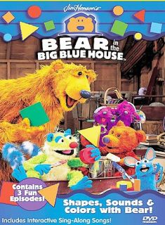 Bear in the Big Blue House   Shapes, Sounds and Colo