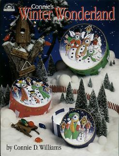 CONNIES WINTER WONDERLAND Connie Williams Decorative Painting Pattern