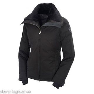 NWT CANADA GOOSE THOMPSON TRAVEL JACKET Top Coat Size M Black 2537L