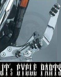 9064 kuryakyn +3 forward controls for harley davidson 91 12 dyna fxd