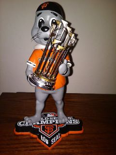 Newly listed 2012 San Francisco Giants World Series Champions Lou Seal