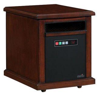 Infared Quartz Electric Portable Heater Air Purifier Colby   Cherry