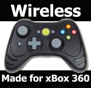 BLACK DATEL RAPID FIRE WIRELESS CONTROLLER FOR XBOX 360