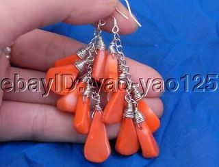 earrings coral