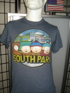 Mens South Park Comedy Central Stan, Kenny, Cartman & Kyle T Shirt
