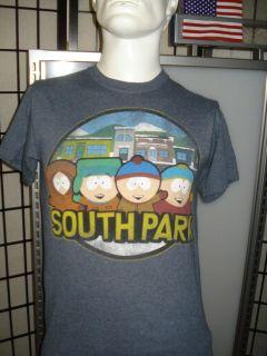 Mens South Park Comedy Central Stan, Kenny, Cartman & Kyle T Shirt