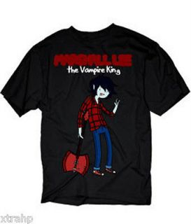 Adventure Time With Finn & Jake Marshall Lee Vampire King T Shirt