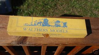 Walthers Models 8819 Train Model Parts in Box Refrigerator Car NOS