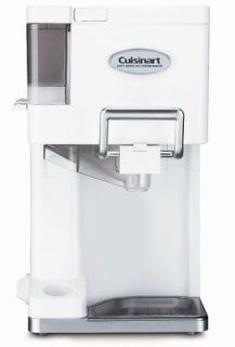 ICE 45 Mix It In Soft Serve 1 1/2 Quart Ice Cream Maker, White