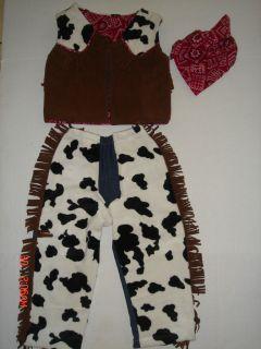 BABY TODDLER BOY GIRL COWBOY COSTUME.
