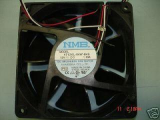 NMB 4712KL 04W B49 12V DC 1.10A BRUSHLESS FAN MOTOR