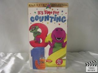 Barney   Its Time For Counting VHS Barney the Dinosaur