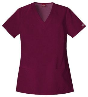 EDS Every Day Medical/Dental Uniform Scrubs Top YOU PICK SIZE & COLOR