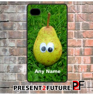 or White Cool Funny Apple Mac PEAR Apple iPhone 4 4s 5 case cover