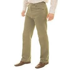 Mens Moleskin Beige Trousers Outdoor Shooting Country