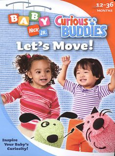 Nick Jr. Baby   Curious Buddies Lets Move! Scratch Free (DVD, 2005