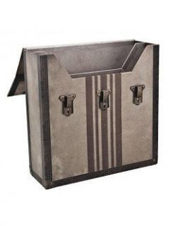 Tim Holtz 12x12 Scrapbook Paper Valise Box Scrapbooking Storage NEW