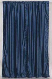 Navy Blue Velvet Curtains / Drapes / Panels   Custom ma