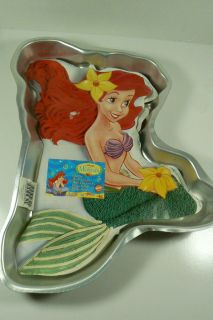 Disney The Little Mermaid Bake Birthday Party Supplies Cake Pan New