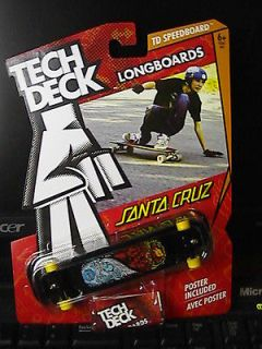 Tech Deck Longboards Santa Cruz TD Speedboard 2013 Set MIB
