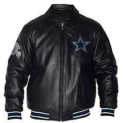 1bf969368 ... Varsity Jacket · NFL Dallas Cowboys Fashion Leather Like Jacket with  Chenille Logos ...
