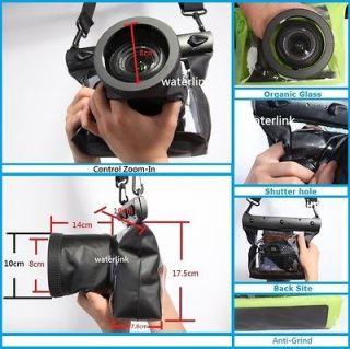 20M Underwater Waterproof Case DSLR SLR Canon 6D 60D 650D 7D Nikon