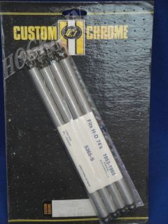 CUSTOM CHROME HARLEY DAVIDSON PANHEAD HYDRAULIC PUSHROD KIT SET 1953