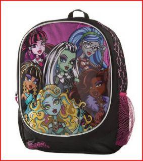 monster high book bags