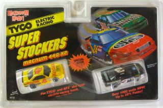 1995 TYCO Marlin & Earnhardt HO Slot Car Twinpack 9112