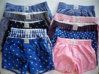 NWT Abercrombie & Fitch by Hollister Men Boxers Shorts Sleep Pants