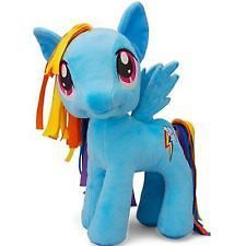 My Little Pony 11in. Plushie Plush Stuffed Animal, Brony Rainbow Dash