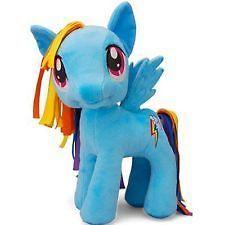 My Little Pony 11in. Plushie Plush Stuffed Animal, Brony Rainbow Dash