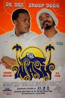 Original Dr. Dre & Snoop Dogg THE WASH Classic 27 x 40 Movie Poster