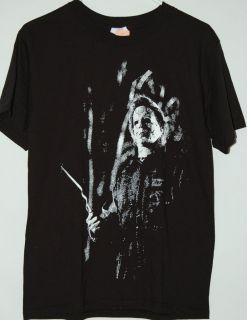 Halloween Michael Myers Knife T Shirt Horror Black Tee