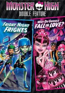 MONSTER HIGH DOUBLE FEATURE * DVD * BRAND NEW FACTORY SEALED with