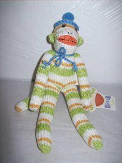 Monkeez 8 Mini Sock Monkey Plush Figure (Darby)
