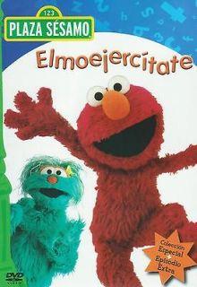 Plaza Sesamo Elmoejercitate / Sesame Street Elmocize DVD NEW