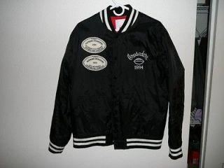 Supreme Crusaders varsity jacket black large used