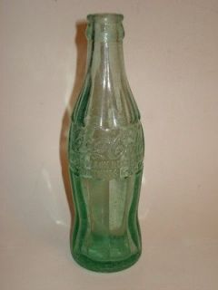 Vintage COCA COLA BOTTLE Hinesville Georgia Trade Marked Pat.D 105529