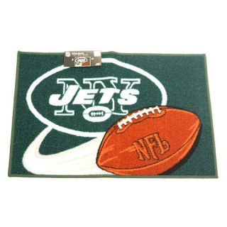 New York Jets 20 x 30 Non Skid Tufted Rug