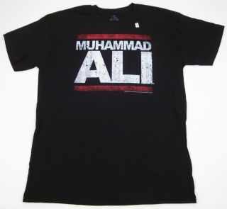 Muhammad Ali T shirt Run DMC Boxing RUN ALI Rap Mens Adult Tee S,M,L